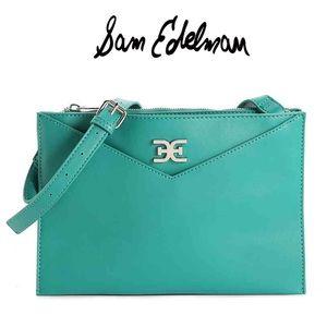Sam Edelman Teal Adley Envelope Crossbody Bag